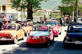 Festa della 500 d'epoca a Borgone (TO)