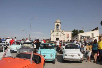 A Calascibetta si festeggiano i 60 anni della Fiat 500
