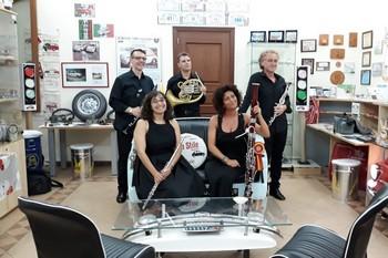 Zemlinsky Quintet al Museo della 500 di Calascibetta