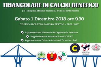 Partita Benefica a Genova
