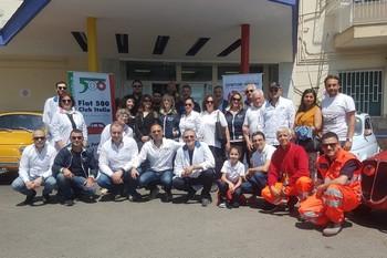 2 giugno - In visita al Pausilipon di Napoli con le 500