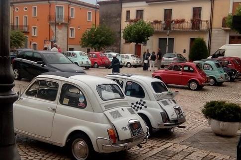 Le 500 a San Marco dei Cavoti