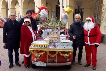 4° Babbo Natale in 500 a Cavour