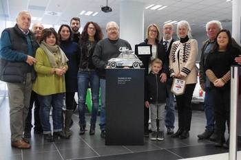 Dono dell'artista Stéphane Cipre al Museo della 500
