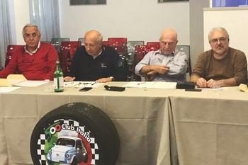 Roma - Consiglio direttivo del Fiat 500 Club Italia