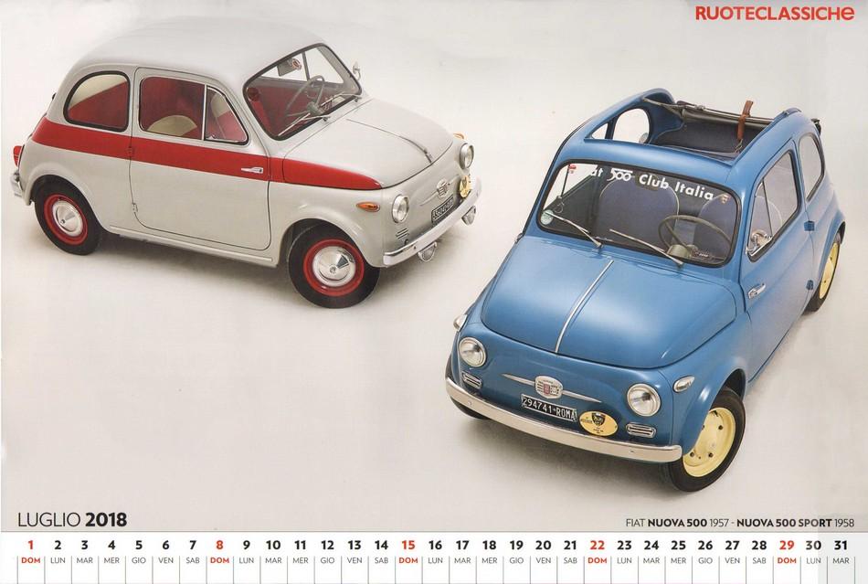 A dicembre in edicola il calendario di Ruoteclassiche