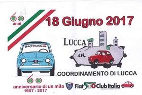 Sulle mura di Lucca in 500