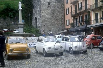 60 in Fiat 500 a Bellagio
