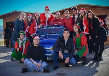 Prizzi (PA), Babbo Natale in 500