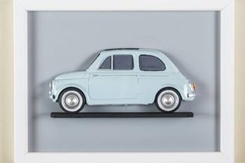 Tre nuove opere al Museo della 500 di Calascibetta