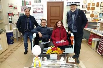 Visite illustri al Museo della 500 di Calascibetta (EN)