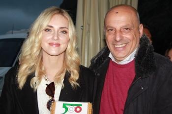 500 e Guerlain, ospite Chiara Ferragni