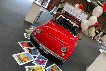 """Una 500 a """"Modena sì sposa"""""""