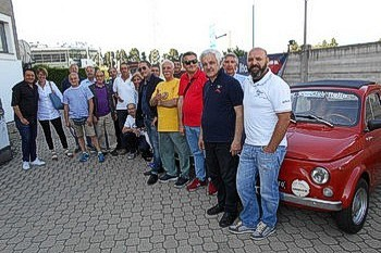 Il Fiat 500 Club Italia su Primantenna TV