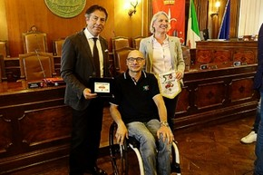 Riconoscimento a Roberto Ruzic, coordinatore di Trieste e Gorizia