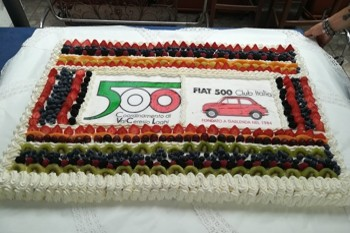 Il Meeting Fiat 500 di Brusimpiano (VA)