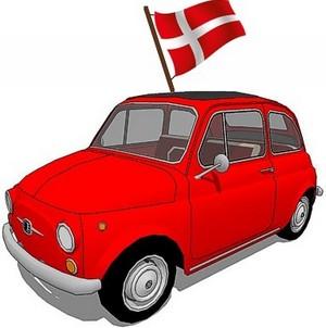 14 Fiat 500 storiche in arrivo dalla Danimarca
