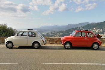 In viaggio con la 500 in Corsica
