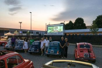 Come una volta: Drive-in in 500 a Castel San Giovanni (PC)