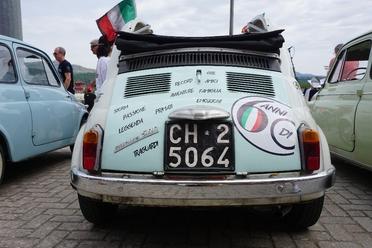 Festivalmare - sabato verrà premiato il Fiat 500 Club Italia