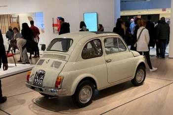 New York - La Fiat 500 nella mostra The Value of Good Design
