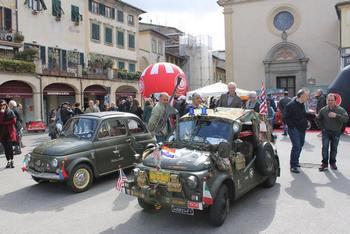 Figline Valdarno - Raduno Fiat 500 e tappa del Restyling Tour