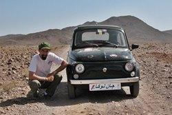 Partenza domani per l'Iran Experience - da Roma all'Iran in Fiat 500 storica