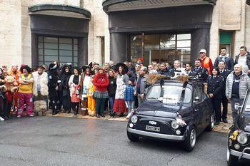 Rombo di solidarietà al Gaslini in…500