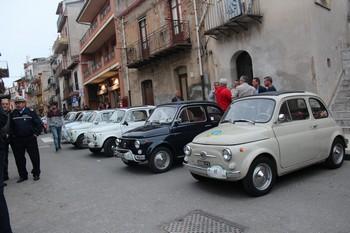 Giro di Sicilia in 500, la Trinacria è bella
