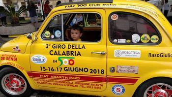 Grande successo per il Giro di Calabria in 500