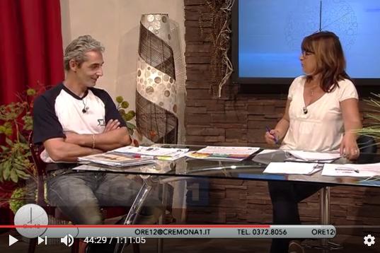 Il fiduciario Sante Granelli su Cremona TV