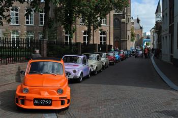 Viaggio in Olanda per il 40° anniversario del Fiat 500 Club Nederland