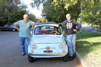 La 500 di Lorenzo - un'auto di famiglia con un futuro da star