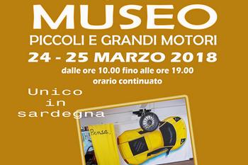 """Inaugurazione Museo """"Piccoli e Grandi Motori"""""""