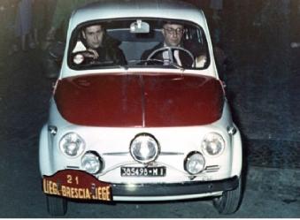Microcars - il tour del 60° anniversario della storica Liège - Brescia - Liège