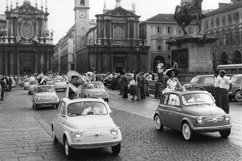 Torino festeggia la sua 500