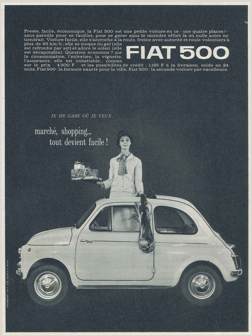 Amato Pubblicità vintage 1963 MO41