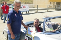 Il Club all'Historic Race saluta Renato Pozzetto
