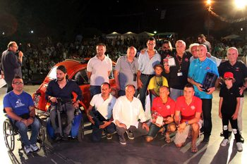 Rhibo al Meeting di Garlenda - Consegna di una 500 speciale