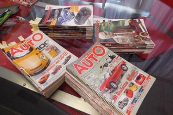 Omaggio riviste di modellismo al Museo Dante Giacosa