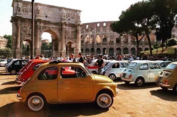 Conferenza Stampa a Palazzo Madama - Fiat 500 Club Italia