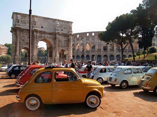 Roma festeggia i 60 anni della mitica 500