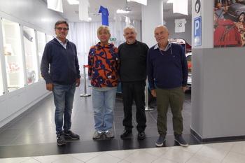 Seiro Itoh - dal Giappone in visita al Museo Dante Giacosa