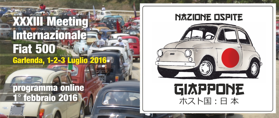 33° Meeting Internazionale Fiat 500 a Garlenda