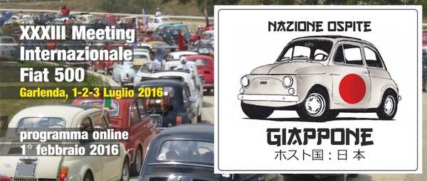 33° Meeting Internazionale Fiat 500 a Garlenda