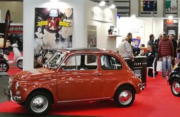 Il Fiat 500 Club Italia ad AutoMotoRetrò 2019
