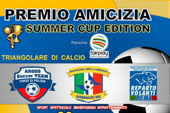 Partita solidale - Amicizia Summer Edition, ROMA