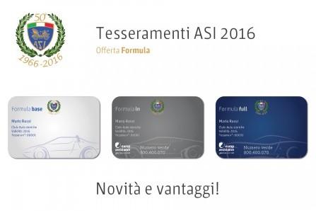 Tesseramenti A.S.I. 2016