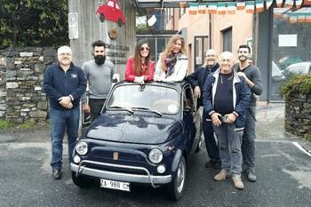 Top Gear España al Museo della 500 di Garlenda