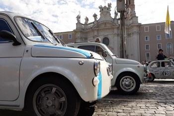 1° Raduno Fiat 500 Coordinamento Roma Sud e Città del Vaticano